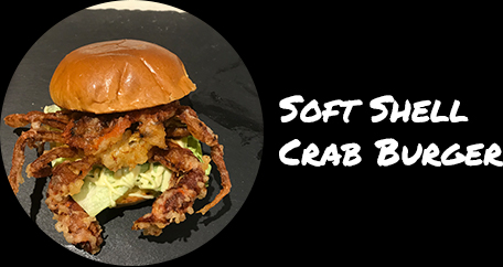 Sushi Fusion Brighton. Japanese cuisine. Sushi fusion rolls and hot dishes. soft shell crab burger