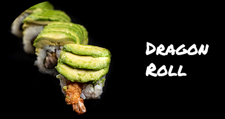 Sushi Fusion Brighton. Japanese cuisine. Special rolls, vegan and desserts. dragon roll