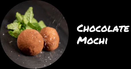 Sushi Fusion Brighton. Japanese cuisine. Special rolls, vegan and desserts. chocolate mochi